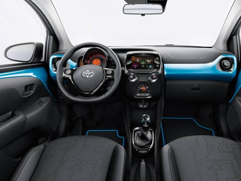 Toyota aygo - Toyota aygo interior ...