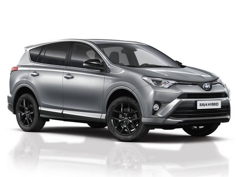 configuratore nuova toyota rav4 hybrid e listino prezzi 2018. Black Bedroom Furniture Sets. Home Design Ideas