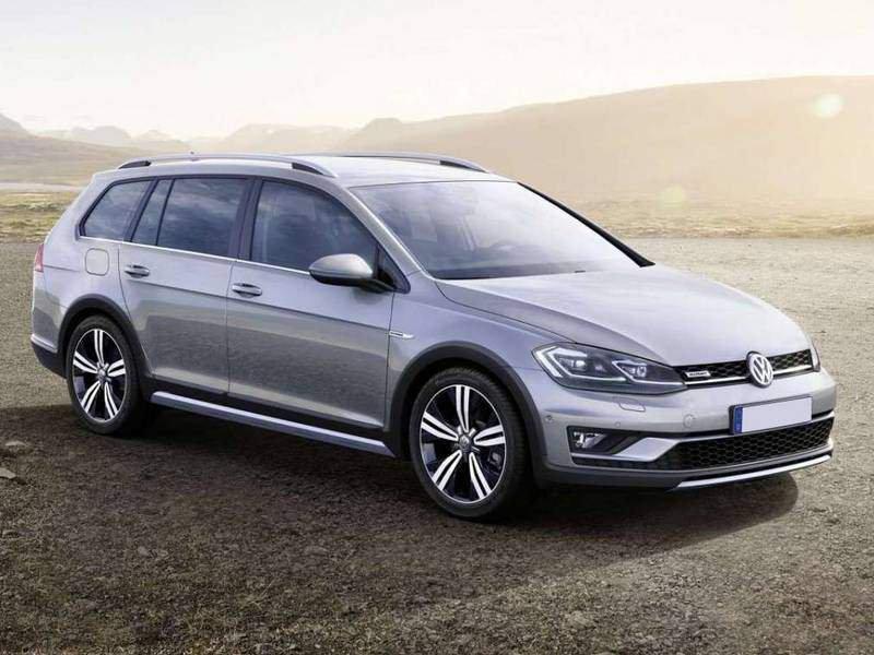 Volkswagen Nuova Golf Variant Alltrack