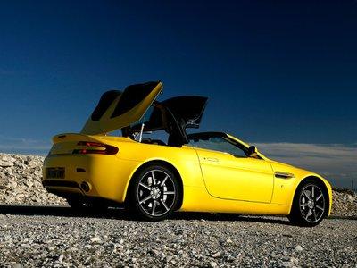 2016 Aston Martin V8 Vantage Roadster