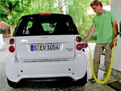 2016 Smart Fortwo Electric Drive Coupe