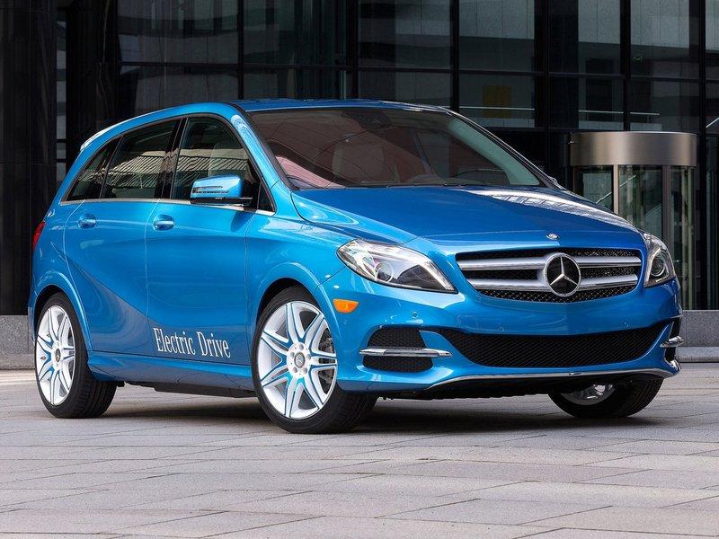 Mercedes-Benz B Class Electric Drive