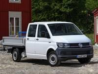 Volkswagen Transporter Doppia Cabina con Cassone a Sponde Abbattibili
