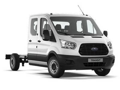 Ford Transit doppia cabina 4 porte
