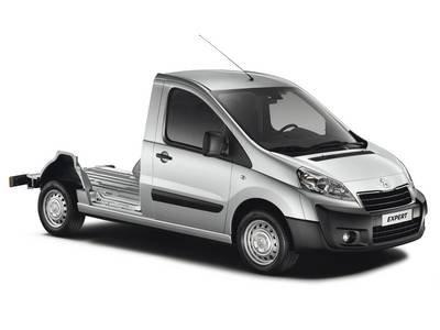 Peugeot Expert Cabinato con Pianale