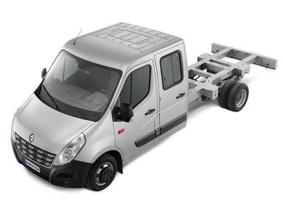 Renault Master cabinato cabina doppia 4 porte