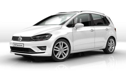 configuratore nuova volkswagen golf sportsvan e listino prezzi 2017. Black Bedroom Furniture Sets. Home Design Ideas