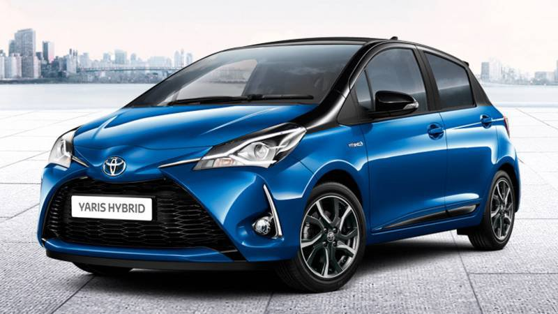 toyota yaris hybride 2018 configurateur nouvelle toyota yaris hybride et listing des prix 2018. Black Bedroom Furniture Sets. Home Design Ideas